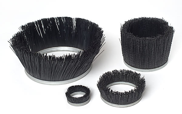 4 sizes of cup brushes
