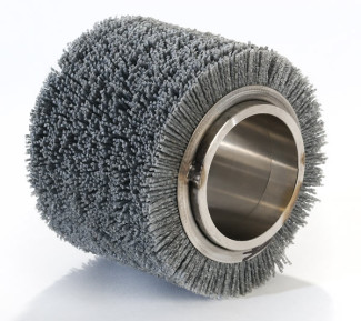 cylinder brush with nylon filaments